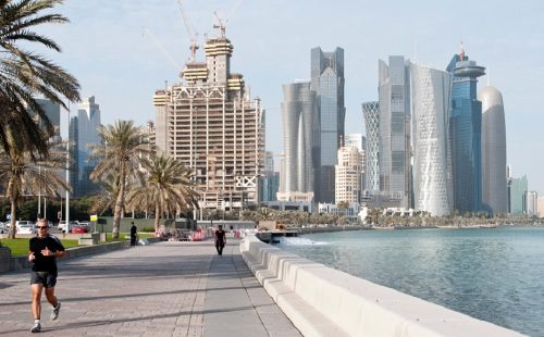 Doha Bank hosts meeting for Sri Lankan delegation