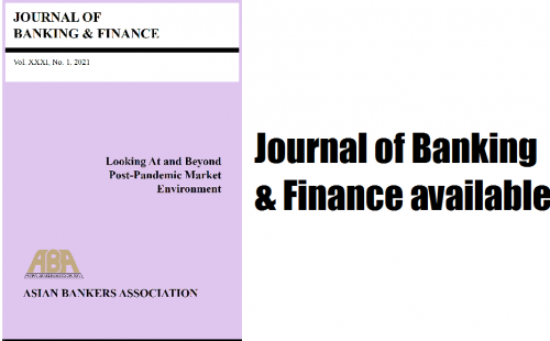 ABA Journal of Banking and Finance – 1st Semester 2021 Issue