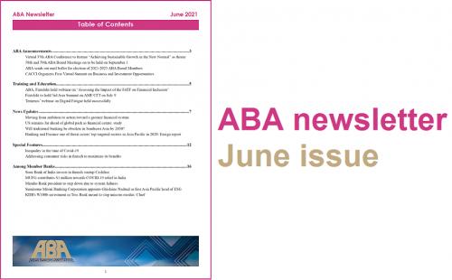 ABA newsletter – June issue