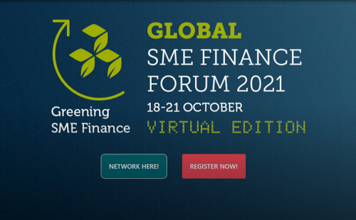 Invitation to Global SME Finance Forum on October 18-21, 2021